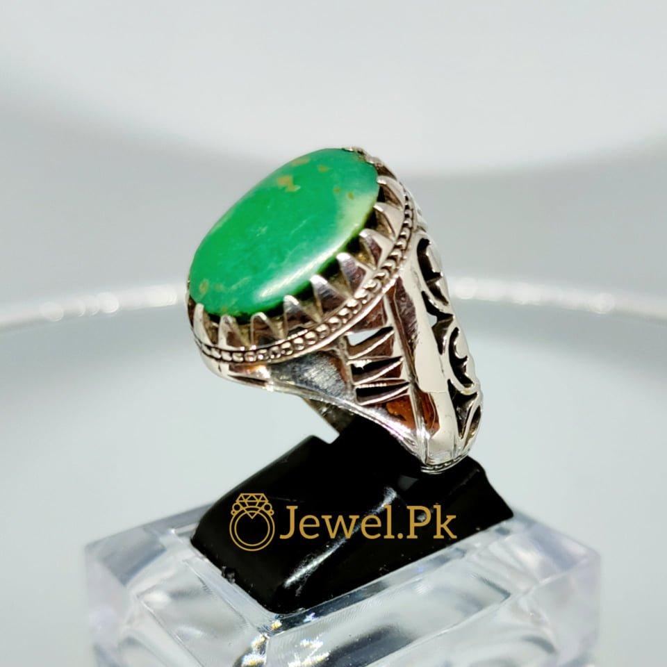 Hussaini Feroza - Green Turquoise + Nishapuri Feroza