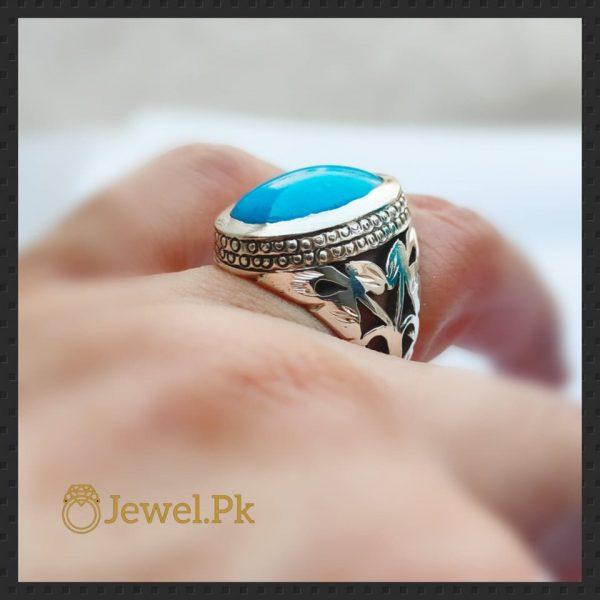 Turquoise Feroza Ring