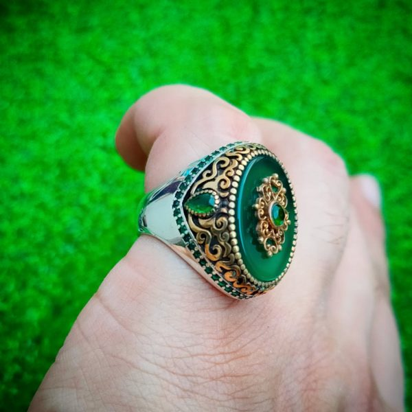 Ultra Luxury Turkish 925 Silver Ring