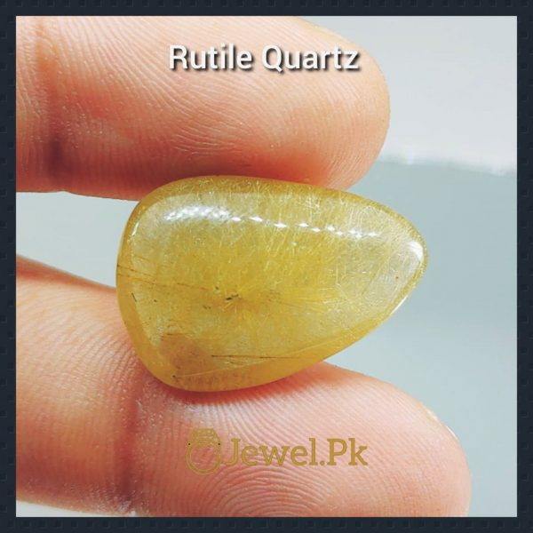 Golden Rutile Quartz