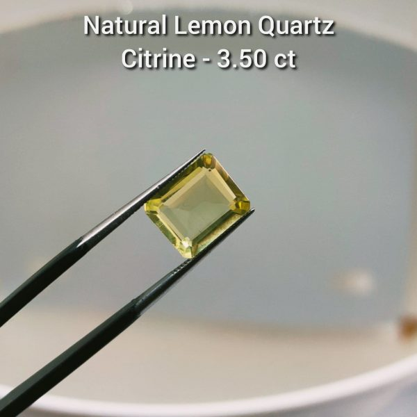 Natural LEmon Quartz - Citrine - Buy Gemstones online in Pakistan